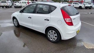 2011 Hyundai i30 FD MY11 SX White 5 Speed Manual Hatchback