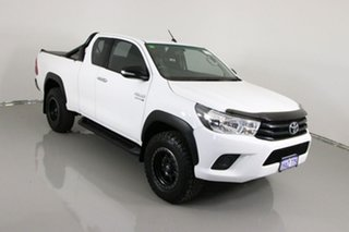2015 Toyota Hilux GUN126R SR (4x4) White 6 Speed Manual X Cab Utility