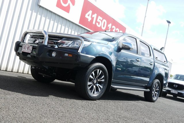 Used Holden Colorado RG MY17 LTZ Pickup Crew Cab Bundaberg, 2016 Holden Colorado RG MY17 LTZ Pickup Crew Cab Blue 6 Speed Sports Automatic Utility