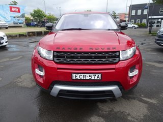 2011 Land Rover Range Rover Evoque L538 MY12 SD4 CommandShift Dynamic Firenze Red 6 Speed Automatic