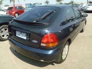 1998 Ford Laser KJ III (KM) LXI Blue 4 Speed Automatic Hatchback