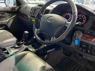 2003 Toyota Landcruiser Prado GRJ120R Grande White 4 Speed Automatic Wagon