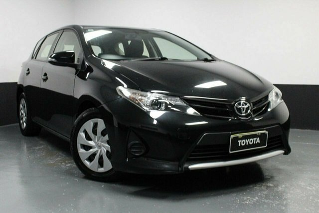 Used Toyota Corolla ZRE182R Ascent S-CVT Hamilton, 2015 Toyota Corolla ZRE182R Ascent S-CVT Black 7 Speed Constant Variable Hatchback