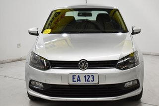 2015 Volkswagen Polo 6R MY15 66TSI DSG Trendline Silver 7 Speed Sports Automatic Dual Clutch.