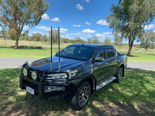 2016 Toyota Hilux GUN126R SR5 Double Cab Graphite 6 Speed Sports Automatic Utility