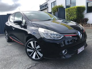 2013 Renault Clio IV B98 Dynamique EDC Black 6 Speed Sports Automatic Dual Clutch Hatchback.