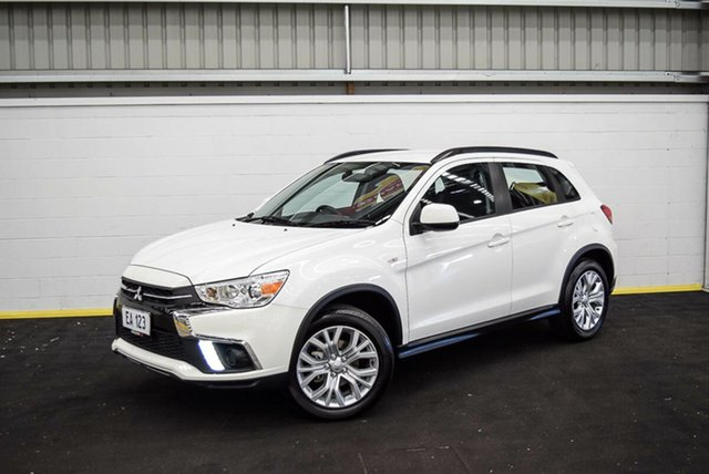 Used Mitsubishi ASX XC MY19 ES 2WD Canning Vale, 2019 Mitsubishi ASX XC MY19 ES 2WD White 1 Speed Constant Variable Wagon