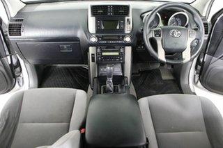 2010 Toyota Landcruiser Prado KDJ150R GXL (4x4) Silver 5 Speed Sequential Auto Wagon