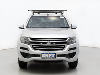 2017 Holden Colorado RG MY17 LS (4x4) Silver 6 Speed Automatic Crew Cab Pickup.