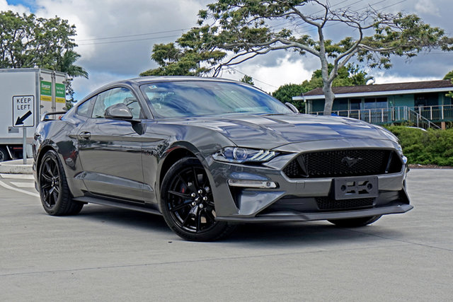 Used Ford Mustang FN 2020MY GT Capalaba, 2019 Ford Mustang FN 2020MY GT Grey 6 Speed Manual Fastback