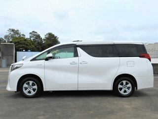 2015 Toyota Alphard Hybrid White 5 Speed Automatic Wagon