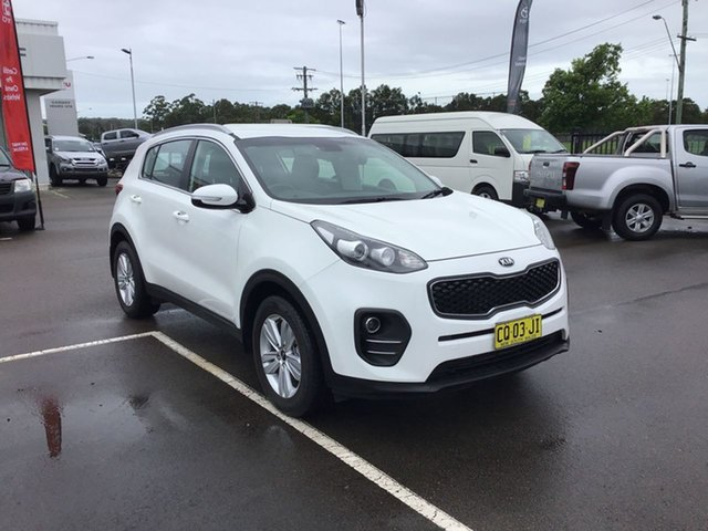 Pre-Owned Kia Sportage QL MY18 Si 2WD Cardiff, 2018 Kia Sportage QL MY18 Si 2WD White 6 Speed Sports Automatic Wagon