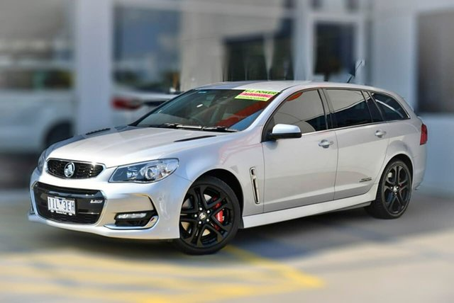 Used Holden Commodore VF II MY16 SS V Sportwagon Redline Berwick, 2016 Holden Commodore VF II MY16 SS V Sportwagon Redline Silver 6 Speed Sports Automatic Wagon