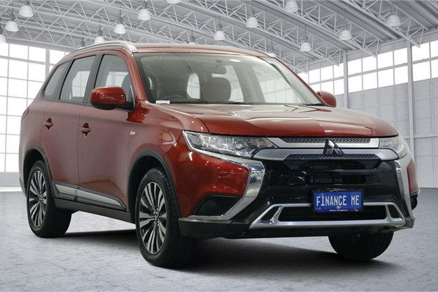 Used Mitsubishi Outlander ZL MY18.5 ES AWD Victoria Park, 2018 Mitsubishi Outlander ZL MY18.5 ES AWD Red 6 Speed Constant Variable Wagon