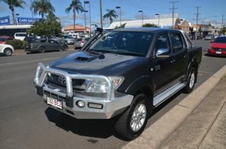 2009 Toyota Hilux KUN26R 09 Upgrade SR5 (4x4) Grey 4 Speed Automatic Dual Cab Pick-up