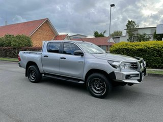 2018 Toyota Hilux GUN126R SR Silver 6 Speed Manual Dual Cab.