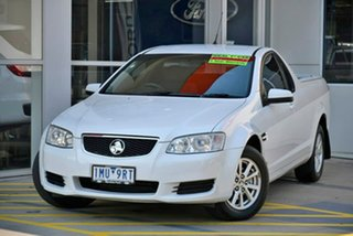 2011 Holden Ute VE II Omega White 6 Speed Sports Automatic Utility