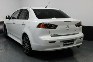 2017 Mitsubishi Lancer CF MY17 LS White 6 Speed Constant Variable Sedan