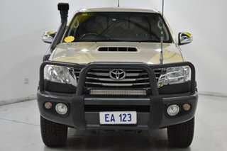 2013 Toyota Hilux KUN26R MY12 SR5 Double Cab Gold 5 Speed Manual Utility.