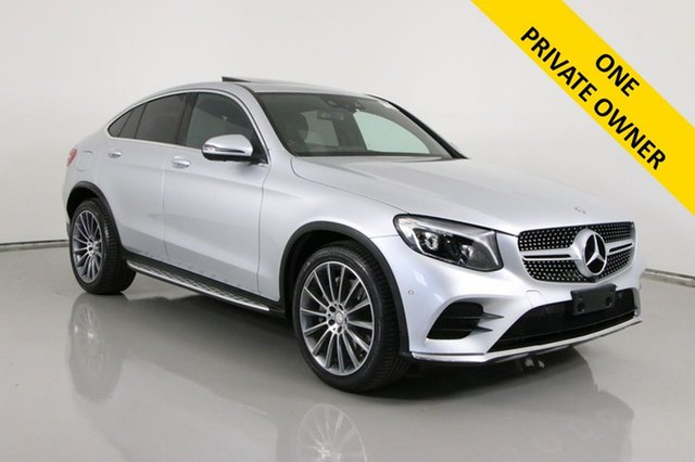 Used Mercedes-Benz GLC220D 253 MY17 Bentley, 2016 Mercedes-Benz GLC220D 253 MY17 Silver 9 Speed Automatic G-Tronic Coupe