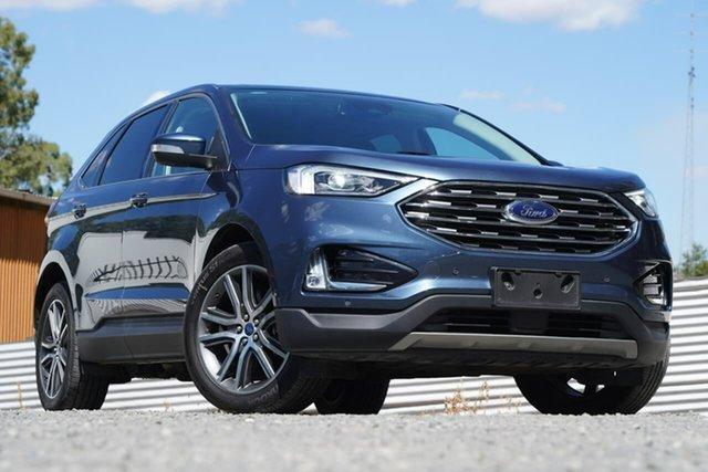 Used Ford Endura CA 2019MY Titanium Clare, 2018 Ford Endura CA 2019MY Titanium Blue 8 Speed Sports Automatic Wagon