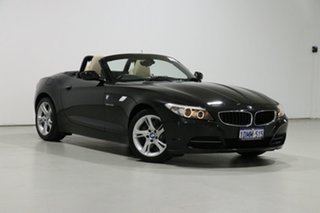 2010 BMW Z4 E89 MY10 sDrive 30I Black 6 Speed Auto Steptronic Roadster.