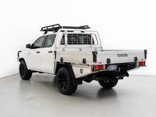2019 Toyota Hilux GUN126R MY19 SR (4x4) White 6 Speed Manual Double Cab Chassis