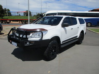 2013 Holden Colorado RG MY14 LTZ (4x4) White 6 Speed Automatic Dual Cab.