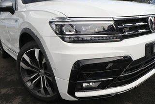 2020 Volkswagen Tiguan 5N MY21 162TSI Highline DSG 4MOTION Allspace White 7 Speed.