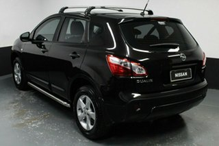 2012 Nissan Dualis J10W Series 3 MY12 ST Hatch 2WD Black 6 Speed Manual Hatchback