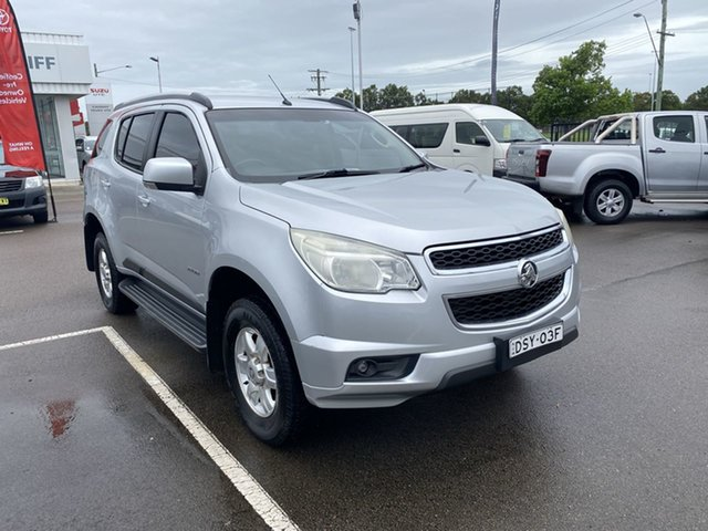 Pre-Owned Holden Colorado 7 RG MY13 LT Cardiff, 2012 Holden Colorado 7 RG MY13 LT Silver 6 Speed Sports Automatic Wagon