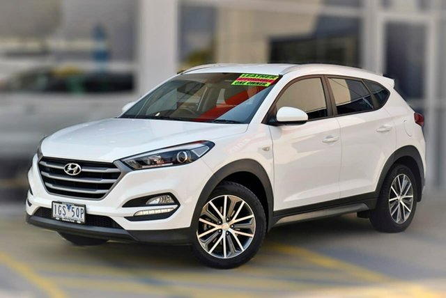 Used Hyundai Tucson TL Active X 2WD Berwick, 2016 Hyundai Tucson TL Active X 2WD White 6 Speed Sports Automatic Wagon