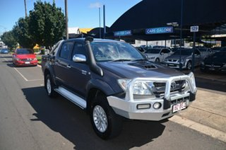 2009 Toyota Hilux KUN26R 09 Upgrade SR5 (4x4) Grey 4 Speed Automatic Dual Cab Pick-up.