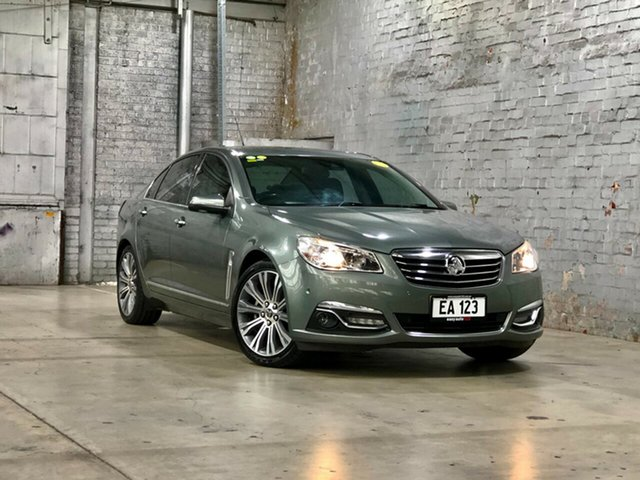 Used Holden Calais VF MY14 V Mile End South, 2014 Holden Calais VF MY14 V Prussian Steel 6 Speed Sports Automatic Sedan