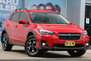 2020 Subaru XV MY20 2.0I-L Pure Red Continuous Variable Wagon.