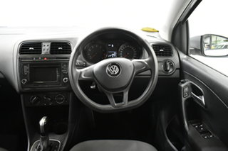 2015 Volkswagen Polo 6R MY15 66TSI DSG Trendline Silver 7 Speed Sports Automatic Dual Clutch