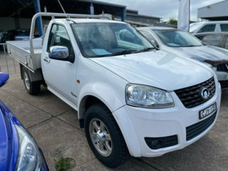 2012 Great Wall V240 K2 MY12 4x2 5 Speed Manual Cab Chassis.
