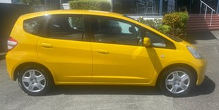2008 Honda Jazz GE MY09 GLi Yellow 5 Speed Manual Hatchback.