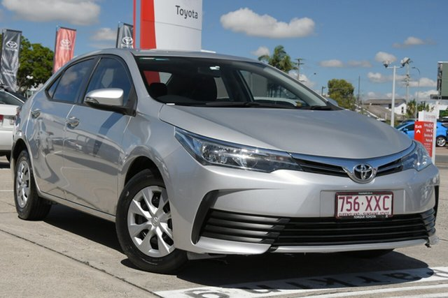 Pre-Owned Toyota Corolla ZRE172R Ascent S-CVT Albion, 2018 Toyota Corolla ZRE172R Ascent S-CVT Silver Ash 7 Speed Constant Variable Sedan