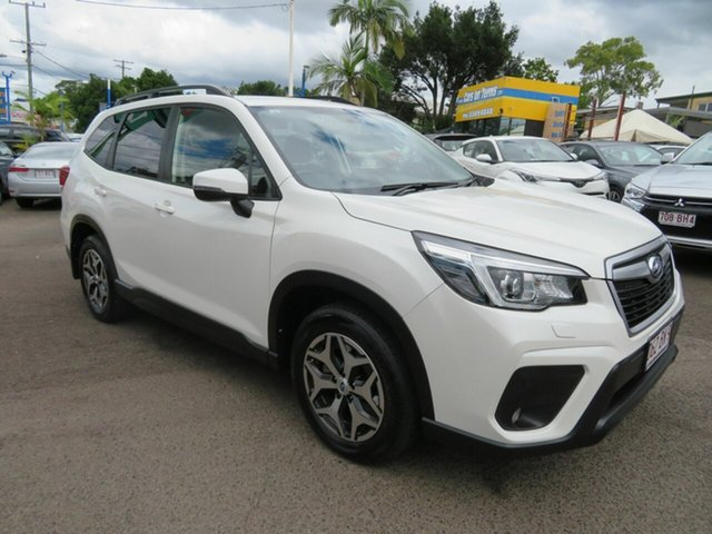 Used Subaru Forester S5 MY19 2.5i CVT AWD Mount Gravatt, 2019 Subaru Forester S5 MY19 2.5i CVT AWD White 7 Speed Constant Variable Wagon