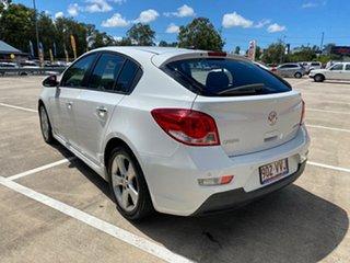 2011 Holden Cruze JH MY12 SRi V White 6 Speed Automatic Hatchback