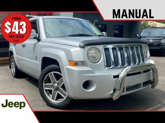 Used Jeep Patriot MK MY2007 Sport Ashmore, 2008 Jeep Patriot MK MY2007 Sport Metallic Silver 5 Speed Manual Wagon