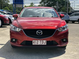 2013 Mazda 6 GJ1031 Touring SKYACTIV-Drive Red 6 Speed Sports Automatic Sedan.