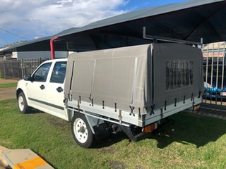 2007 Holden Rodeo RA MY07 LX White 5 Speed Manual Crew Cab Pickup