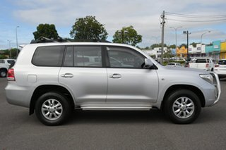 2010 Toyota Landcruiser UZJ200R MY10 GXL Silver 5 Speed Sports Automatic Wagon.