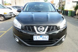 2012 Nissan Dualis J10 Series II MY2010 +2 X-tronic AWD Ti Black 6 Speed Constant Variable Hatchback.
