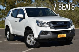 2017 Isuzu MU-X MY17 LS-M Rev-Tronic 4x2 White 6 Speed Sports Automatic Wagon.
