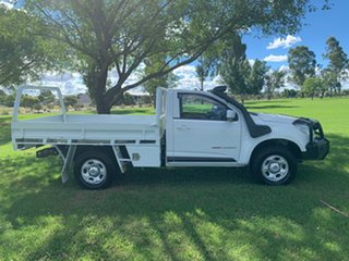 2015 Holden Colorado RG MY15 LS Summit White 6 Speed Sports Automatic Cab Chassis