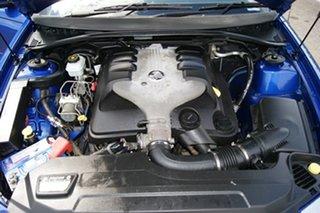 2006 Holden Commodore VZ MY06 SV6 Blue 5 Speed Auto Active Select Sedan