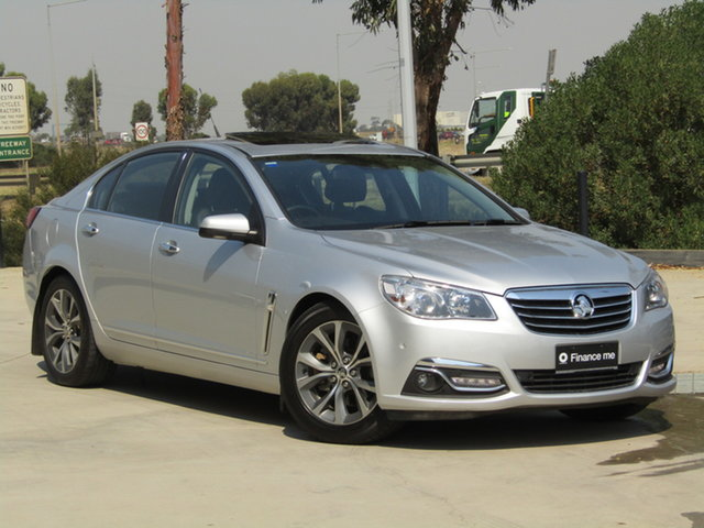 Used Holden Calais VF MY14 V Ravenhall, 2014 Holden Calais VF MY14 V Silver 6 Speed Sports Automatic Sedan